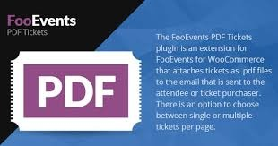 FooEvents v1.8.16 Nulled (PDF Tickets)