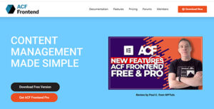 ACF Frontend (Premium) Nulled v.2.10.19