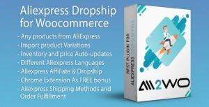 AliExpress Dropshipping Business plugin for WooCommerce Nulled v.1.16.7