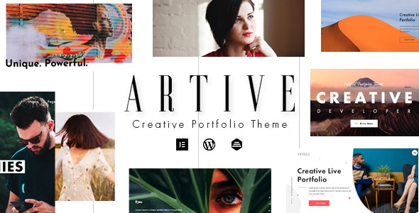 Artive Creative Portfolio Theme