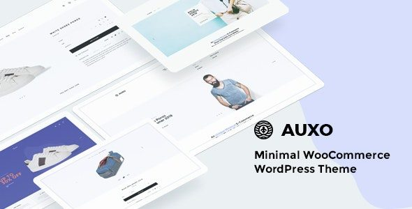 Auxo – Minimal WooCommerce Shopping WordPress Theme