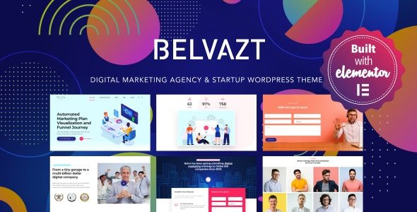 Belvazt Digital Marketing Agency WordPress Theme