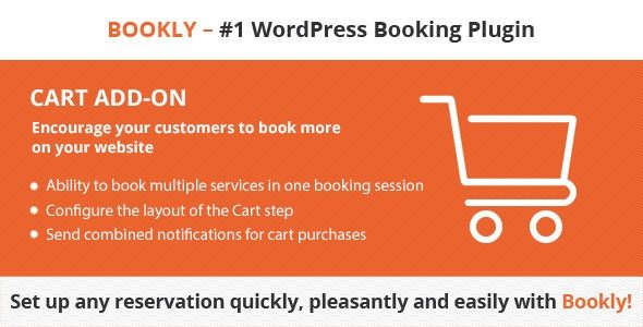 Bookly Cart v2.6 Nulled (Add-on)