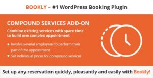 Bookly Compound Services Nulled v.2.9
