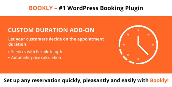 Bookly Custom Duration Nulled v.2.2