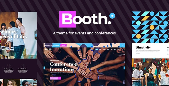 Booth Event and Conference Theme