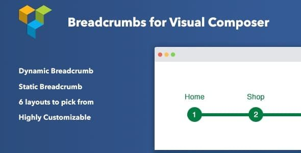 Breadcrumbs for Visual Composer Nulled v.1.2