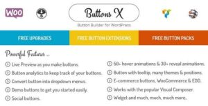 Buttons X Powerful Button Builder for WordPress Nulled v.1.9.73