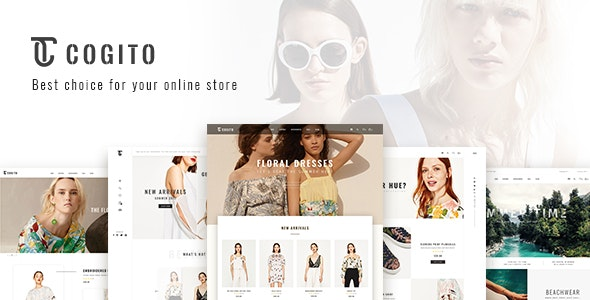 Cogito Clean, Minimal WooCommerce Theme Nulled v.1.5