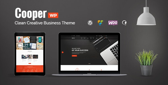 Cooper Nulled v4.3 Clean Creative Business Theme