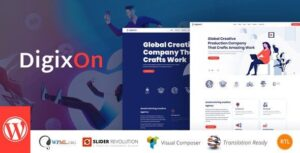 Digixon Digital Marketing Strategy Consulting WP Theme Nulled v.1.6