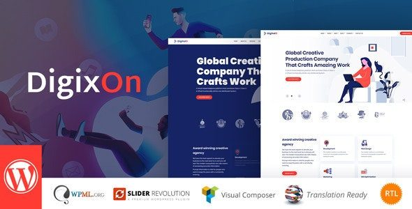 Digixon Digital Marketing Strategy Consulting WP Theme
