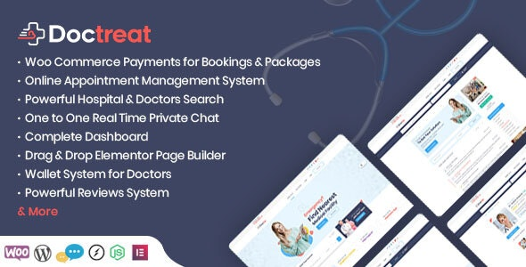 Doctreat Theme v1.4.9 Nulled