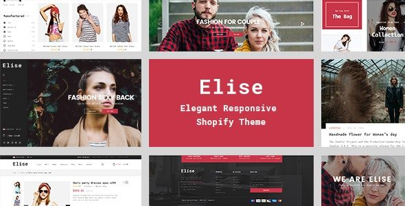 Elise A Genuinely Multi-Concept Shopify Theme Nulled v.2.0.0
