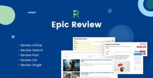 Epic Review WordPress Plugin Nulled v.1.0.2