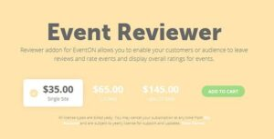 EventOn Event Reviewer Add-on Nulled v.1.0.4