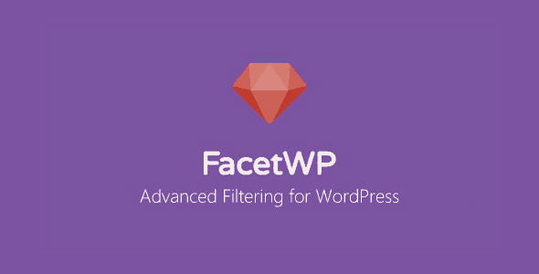FacetWP User Post Type Nulled v.0.7.3
