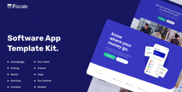 Fiscale Business & Services Elementor Template Kit Nulled v.1.0.1