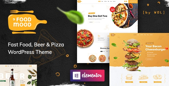 Foodmood Cafe & Delivery WordPress Theme