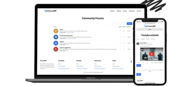 ForumWP Nulled v.1.0.7 The new standard for WordPress Forum Plugins. Fast, easy to use and beautiful.Build your online community with ForumWP.