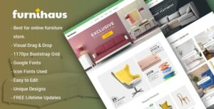 Furnihaus Responsive Furniture WooCommerce Theme Nulled v.1.1.1