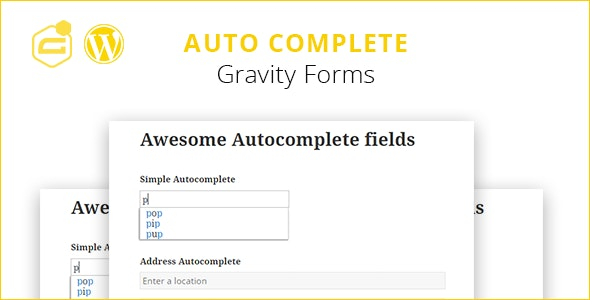 Gravity Forms Auto Complete Nulled v.1.8.4
