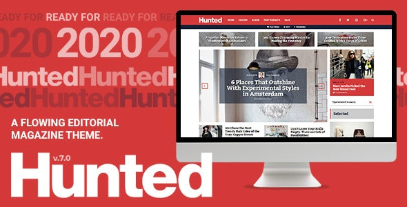 Hunted A Flowing Editorial Magazine Theme