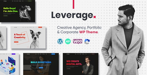 Leverage Creative Agency & Portfolio WordPress Theme