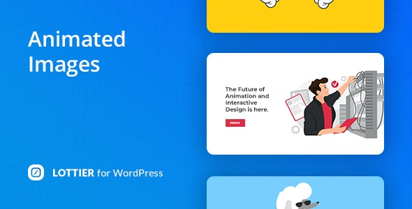 Lottier v1.1.2 Nulled (Lottie Animated Images for WordPress Editor)