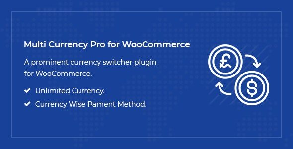 Multi Currency Pro for WooCommerce Nulled v.1.4