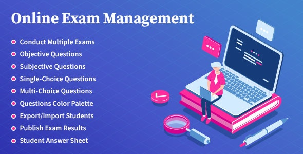 Online Exam Management Education & Results Management