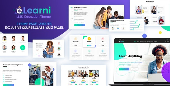 Online Learning & Education LMS eLearni Nulled v.2.1