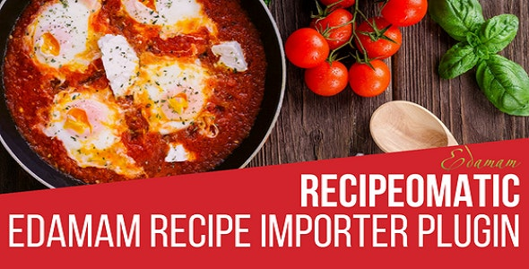 Recipeomatic Automatic Recipe Post Generator Nulled v1.2.2.2