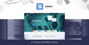 Setech IT Services and Solutions WordPress Theme Nulled v.1.0.2
