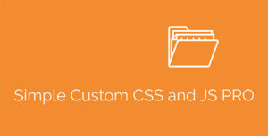 Simple Custom CSS and JS PRO Nulled v.4.25