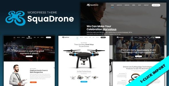 SquaDrone Drone & UAV Business Nulled v.1.0.9