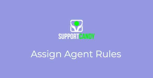 SupportCandy – Assign Agent Rules