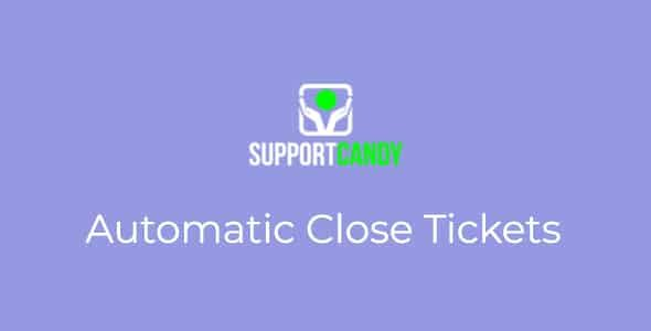 SupportCandy – Automatic Close Ticket