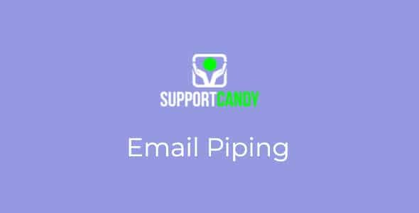 SupportCandy Email Piping Nulled v.2.1.6