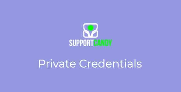 SupportCandy Private Credentials Nulled v.1.0.2