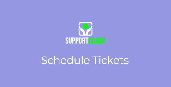 SupportCandy Schedule Tickets Nulled v.2.0.7