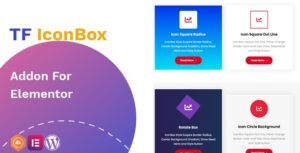 TF IconBox Addon for elementor Nulled v.1.0.2