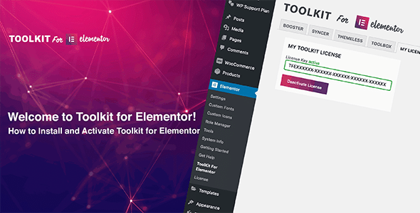 Toolkit For Elementor Nulled v.1.3.15