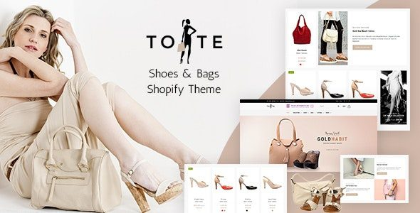 Tote Bags & Shoes Shop Shopify Theme