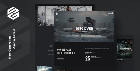 Tourog Creative Agency WordPress Theme