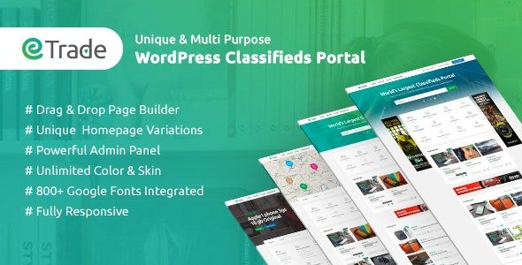 Trade Modern Classified Ads WordPress Theme Nulled v.3.3.6