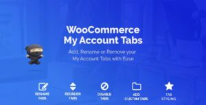 WooCommerce Custom My Account Pages Nulled v.1.0.12
