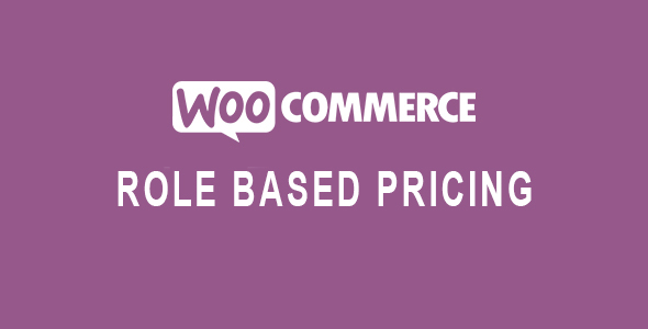 Role Based Pricing for WooCommerce Nulled v.1.5.2