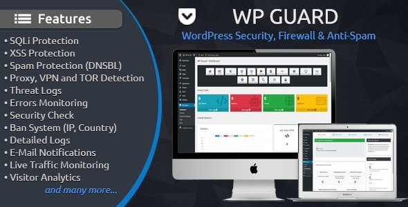 WP Guard Security plugin for WordPress Nulled v.1.6.1