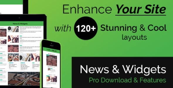 WP News and Scrolling Widgets Nulled v.2.2
